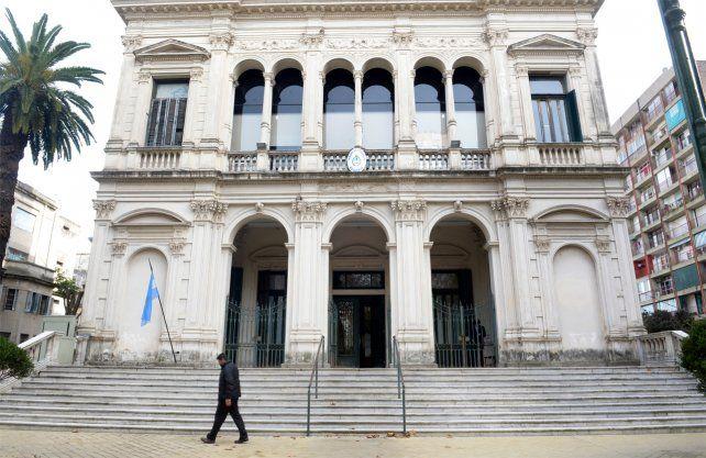 Los Tribunales federales de Rosario.