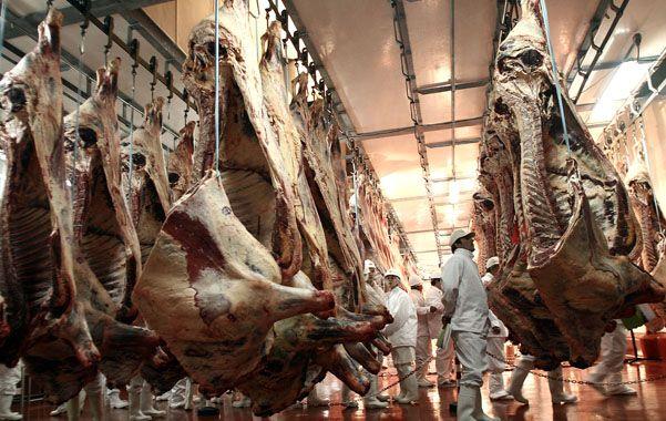 Frigoríficos. Los últimos informes de Fisfe señalan que hay un aumento en la actividad de la industria cárnica.