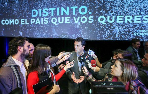 Massa llamó a avanzar con una agenda concreta de transparencia para la Argentina y para su futuro.