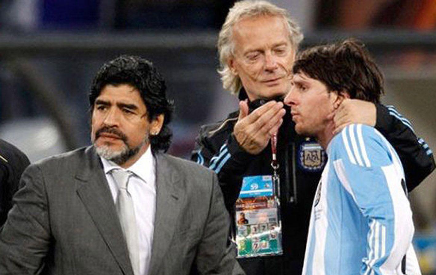 Signorini explicó que Messi no se rompe