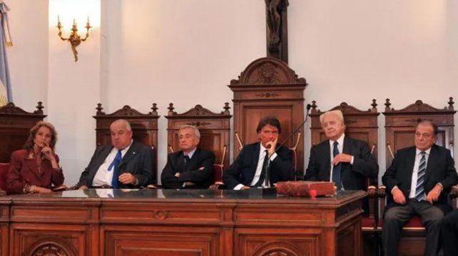 La actuación de la Corte Suprema lleva la firma de Eduardo Spuler