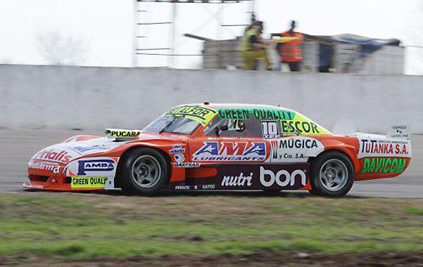 Castellano marcó el mejor tiempo en uno de sus últimos intentos y despojó a Pechito López. Hoy