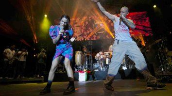 Hermanos. Ileana y René recorrieron con mucho éxito los escenarios de América latina en la agrupación Calle 13.