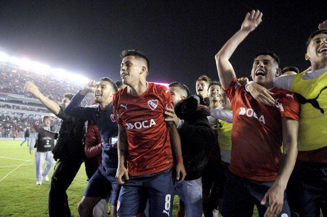 Alegría infernal. Independiente hizo claros merecimientos en la segunda etapa.