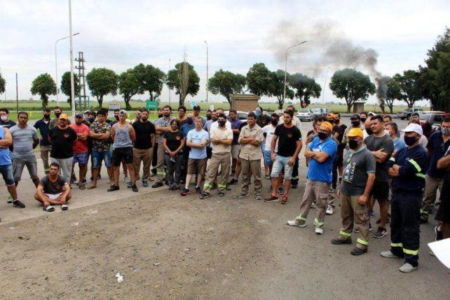 La huelga aceitera es una puja salarial testigo en el sector agroexportador.