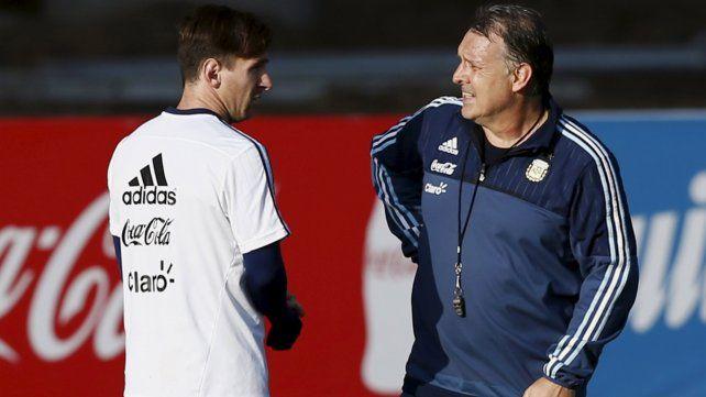 El Tata Martino dijo que nunca hay que hacer lo que diga Messi