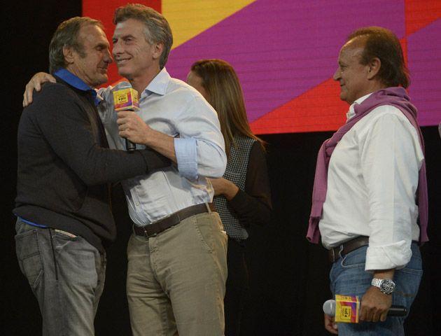 El senador ancional Carlos Reutemann dijo que acompaña a Macri por que ve que tiene muchas ganas.