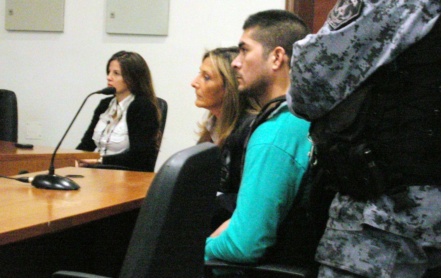 Principal acusado. Walter Guzmán