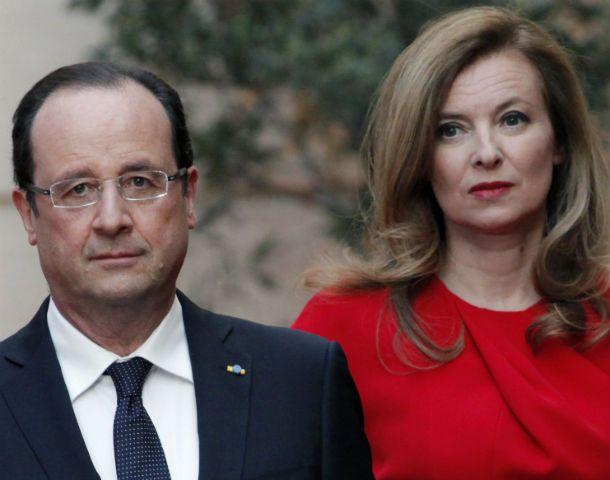 """Se terminó. Hollande y la periodista estaban juntos desde 2007. El """"affaire"""" terminó con la relación."""