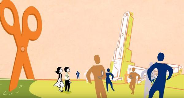 Imagen del video producido por el realizador santafesino Pablo Rodríguez Jáuregui.