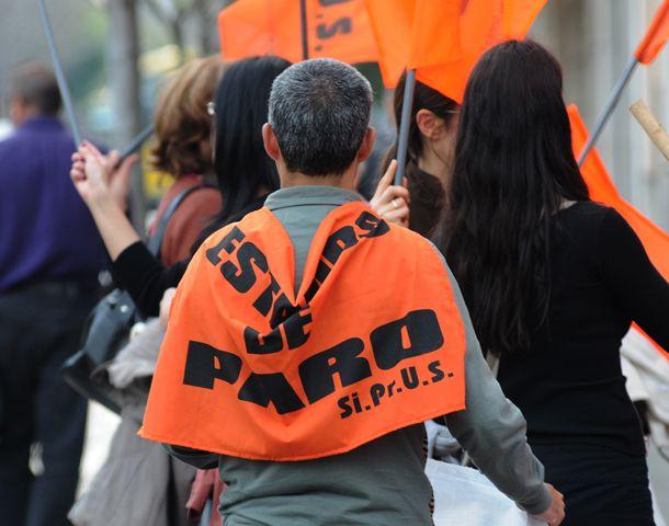 Los profesionales del Siprus van al paro mañana miércoles. (Foto: E. Rodríguez Moreno)