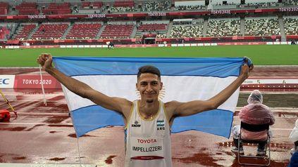 ElrosarinoBrian Lionel Impellizzeri obtuvo la medalla de plata en la prueba de salto en largo de los Juegos Paralímpicos deTokio 2020.
