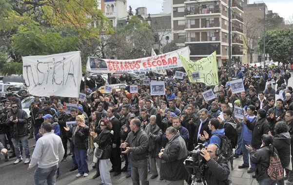 El caso de Gerardo Escobar motivó numerosas marchas de sus allegados y agrupaciones sociales y políticas.
