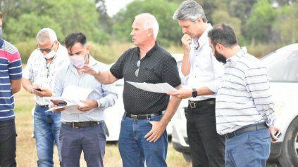 El intendente Carlos De Grandis recibió al secretario de Turismo Alejandro Grandinetti.