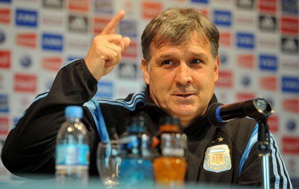 Martino destacó que poder ver jugadores en este tipo de partidos es importante para ir dándole forma al equipo para la Copa  América.