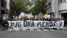 En la calle, movilizadas. El Colectivo Ni Una Menos, es una de las expresiones mavisas contra la violencia de género.