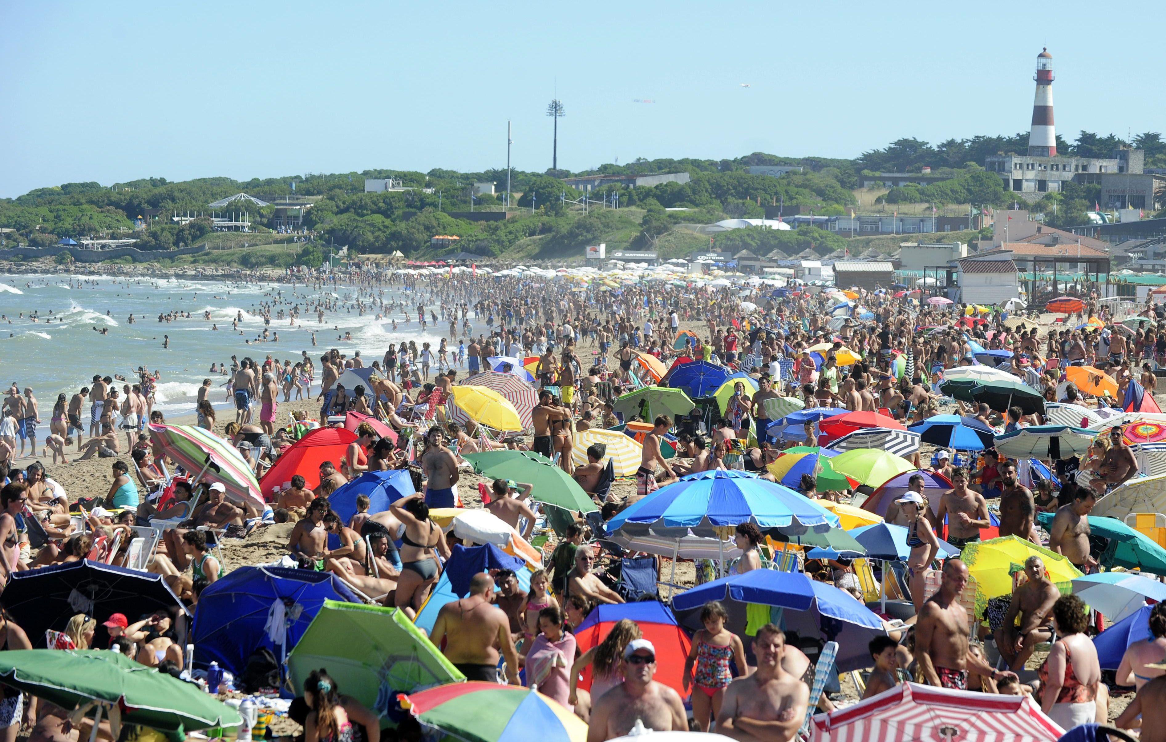 La temporada turística es excelente en la Costa Atlántica.