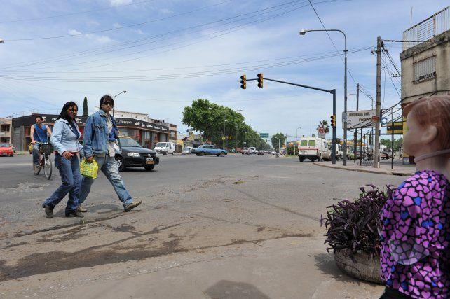 La fuga fue cuando un móvil del SP circulaba por avenida Presidente Perón.