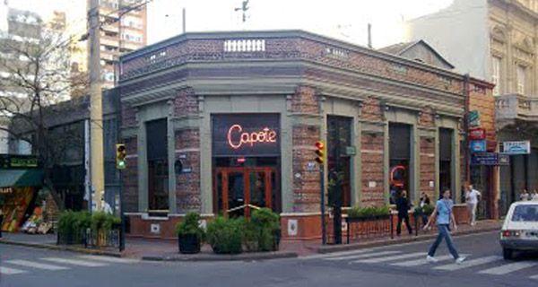 Robaron el céntrico bar Capote y a los clientes que estaban cenando