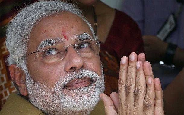 El nacionalista Narendra Modi.
