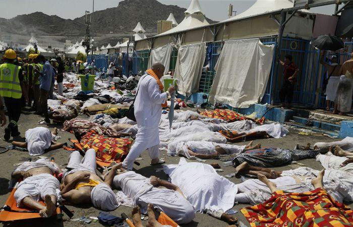 Imagen tomada por un socorrista a los pocos minutos de producirse la tragedia.(Foto: Reuters)