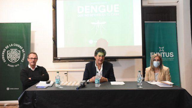 Funes: Santacroce presentó la campaña contra el dengue