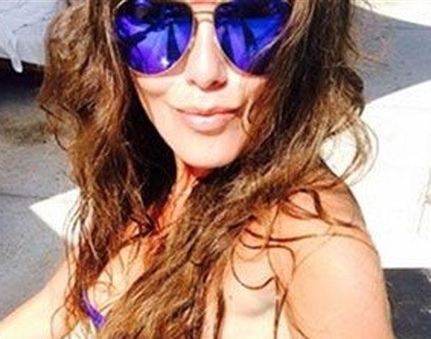 La modelo viajó la semana pasada a Isla Saona