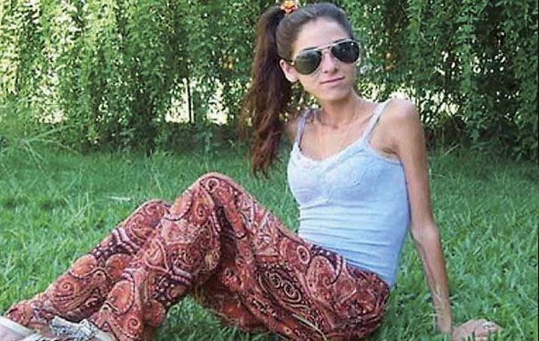 Tragedia. Antonella padecía un trastorno alimenticio que la fue consumiendo paulatinamente.