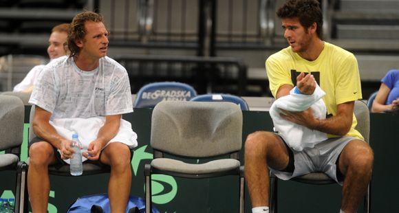 Después de tres años, Del Potro y Nalbandian vuelven a compartir el equipo de la Davis