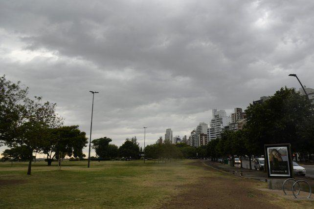 Cayeron algunas gotas en Rosario