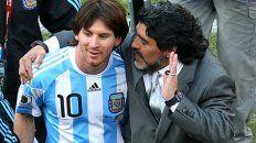 Messi recordó a Maradona: Nos deja, pero no se va porque Diego es eterno