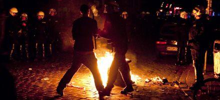 Alemania: chocan manifestantes y policías con 29 heridos, en la previa del 1º de mayo