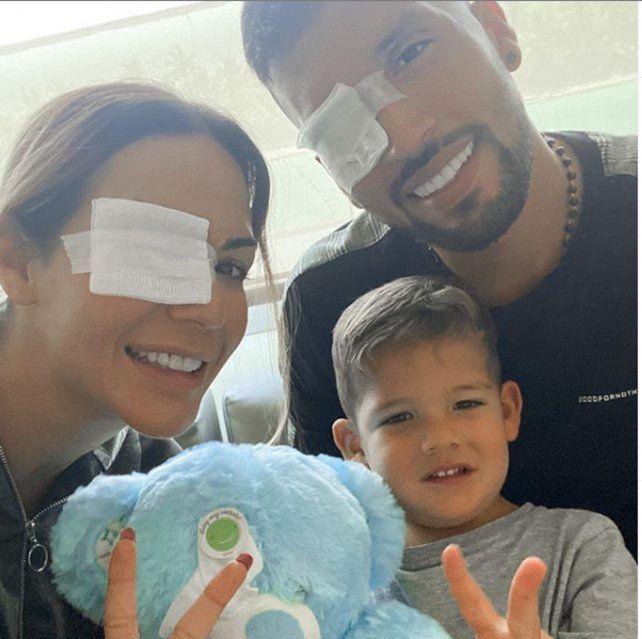 La mujer del ex Newells Ezequiel Garay confirmó que la operación de su hijo salió muy bien