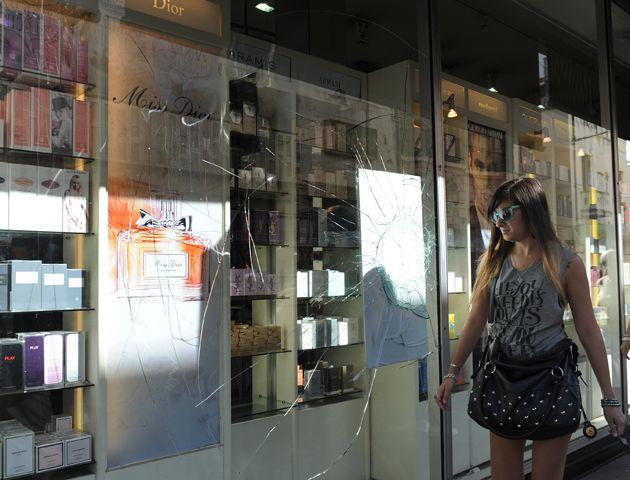 El local comercial es blanco de robo todos los meses. (Foto:V. Benedetto)