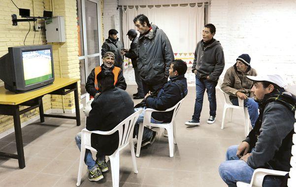 Grandoli 3450. El Refugio Municipal comenzó a brindar asistencia.