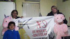 Mariela Leiva, directora de la Escuela Nº 44 República Argentina, de Colonia Santa Anita, una zona rural de Basavilbaso, en el departamento Uruguay, quien encabeza, la campaña Paren de Fumigar las escuelas.