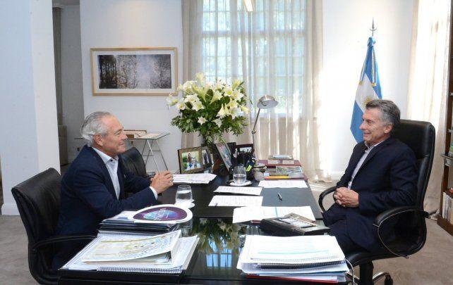 El ofrecimiento. Macri le comunicó a Barletta el deseo de que se convierta en embajador en Montevideo.