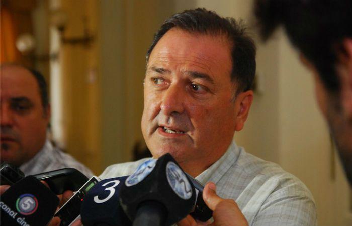 El secretario general del Sindicato de Municipales de Rosario.