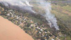 incendios rurales: nacion quiere que se investigue si hubo intencionalidad politica