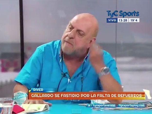Papelón: Pagani se sacó y protagonizó una vergonzosa pelea