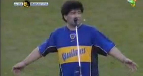 Hace diez años de la emocionante despedida de Maradona y de la frase la pelota no se mancha