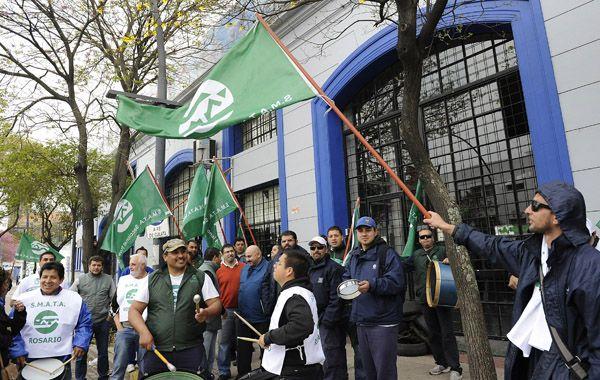 Smata protestó y cortó Alberdi por un despido en Guerrero.