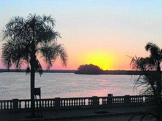 Un mirador al río Uruguay