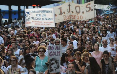 Como ocurre cada 24 de marzo miles de rosarinos recordarán la nefasta fecha. (Foto archivo: F.Guillén)