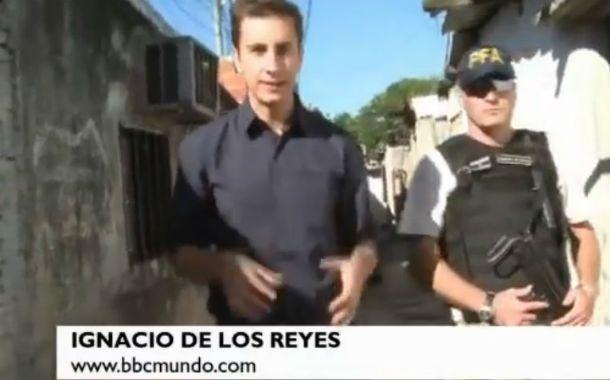 En el lugar. Ignacio de los Reyes trabaja para la BBC Mundo (Londres) y estuvo en los procedimientos de fuerzas federales.