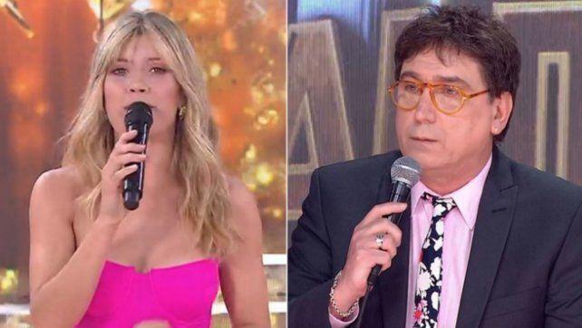 Laurita Fernández sorprendió con un pícaro elogio al corte de pelo de Oscar Mediavilla