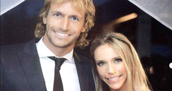 José Meolans llegó en helicóptero a su boda en las sierras cordobesas