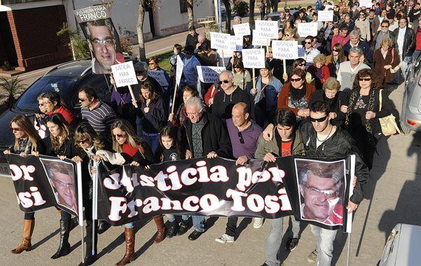 Marcha. Ciudadanos de Cañada de Gómez se trasladaron a Carrilobo hace más de un mes para pedir justicia.