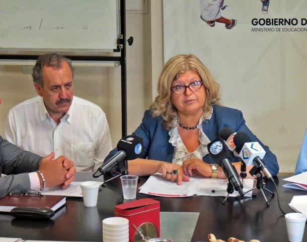 Balagué valoró que los concursos dan estabilidad laboral y estabilidad a la calidad educativa.
