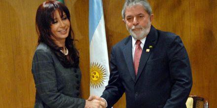 Cristina y Lula distendieron la discusión por diferencias en la relación comercial